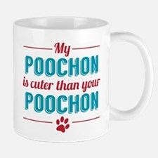 Cuter Poochon Mugs