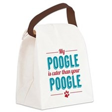 Cuter Poogle Canvas Lunch Bag