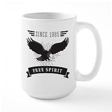 Birthday Born 1985 Free Spirit Mug