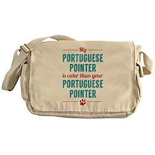 My Portuguese Pointer Messenger Bag