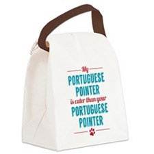 My Portuguese Pointer Canvas Lunch Bag