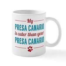 Cuter Presa Canario Mugs