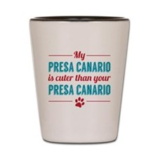 Cuter Presa Canario Shot Glass