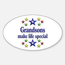 Grandsons are Special Decal