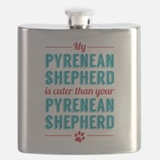 My Pyrenean Shepard Flask