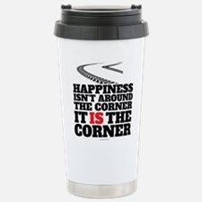 Happiness Isn't Around Travel Mug