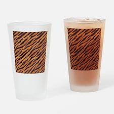 Tiger Fur Drinking Glass