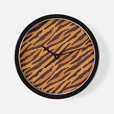 Tiger Fur Wall Clock