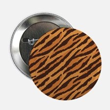 """Tiger Fur 2.25"""" Button"""
