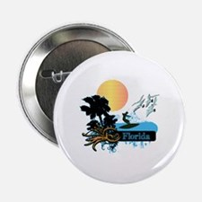 "Sun Surf and Palms Tropics 2.25"" Button"