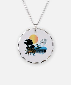 Sun Surf and Palms Tropics Necklace