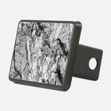 Black and White Marble Hitch Cover