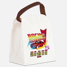 Cute Backtothefuturemovie Canvas Lunch Bag