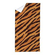Tiger Fur Beach Towel
