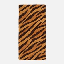 Tiger Fur Beach Towel