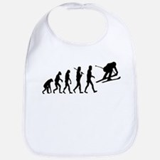 Skiing Evolution Bib