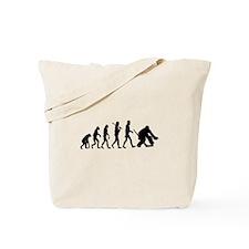 Hockey Goalie Evolution Tote Bag