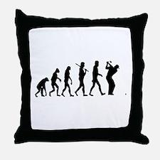 Golf Evolution Throw Pillow