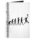 Basketball evolution Journals & Spiral Notebooks