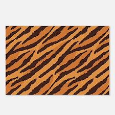 Tiger Fur Postcards (Package of 8)