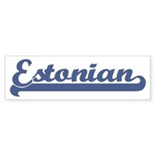 Estonian (sport) Bumper Bumper Sticker