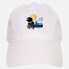 Sun Surf and Palms Tropics FLORIDA Baseball Baseball Cap