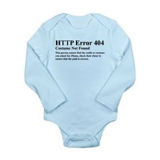 HTTP Error 404 Costume Long Sleeve Infant Bodysuit