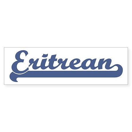 Eritrean (sport) Bumper Sticker