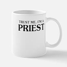 Trust Me Im A Priest Mugs