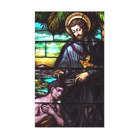 St. Francis Xavier Rectangle Sticker