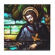 St. Francis Xavier Tile Coaster