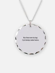 Random Features Necklace