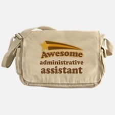 Awesome Administrative Assistant Messenger Bag
