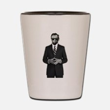 Lincoln Serious Business Shot Glass
