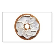 Bagel with Cream Cheese Decal