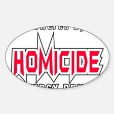 Homicide Energy Drink Decal
