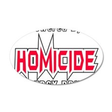 Homicide Energy Drink Wall Decal