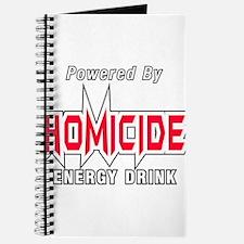 Homicide Energy Drink Journal