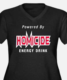 Homicide Energy Drink Plus Size T-Shirt