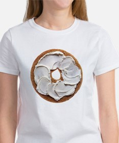 Bagel with Cream Cheese T-Shirt