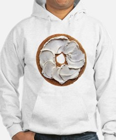 Bagel with Cream Cheese Hoodie