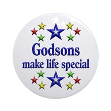 Godsons are Special Ornament (Round)