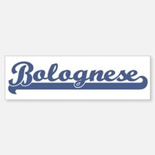 Bolognese (sport) Bumper Car Car Sticker