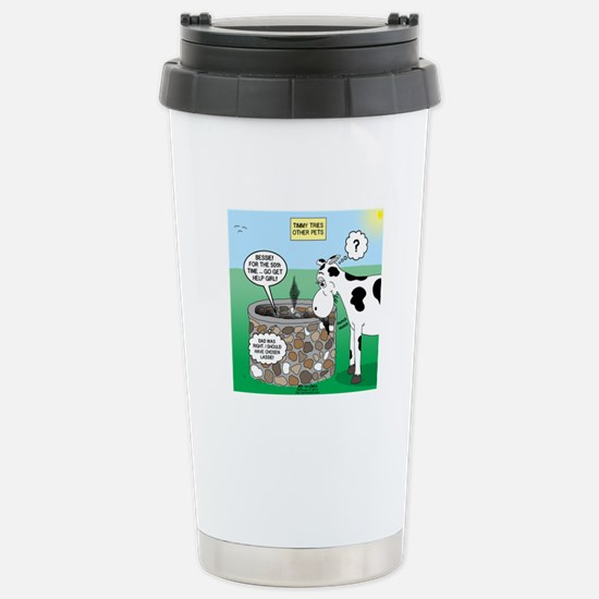 Timmys Cow Stainless Steel Travel Mug