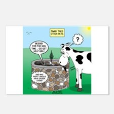 Timmys Cow Postcards (Package of 8)