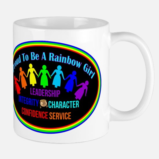 International Order Of The Rainbow Girls Mugs