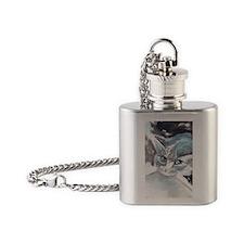 I Bite Flask Necklace