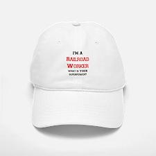 railroad worker Baseball Baseball Cap