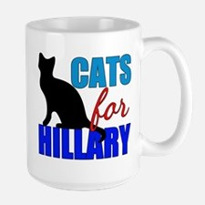 Cats for Hillary Mug