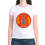 Mahayana In Chinese Jr. Ringer T-Shirt